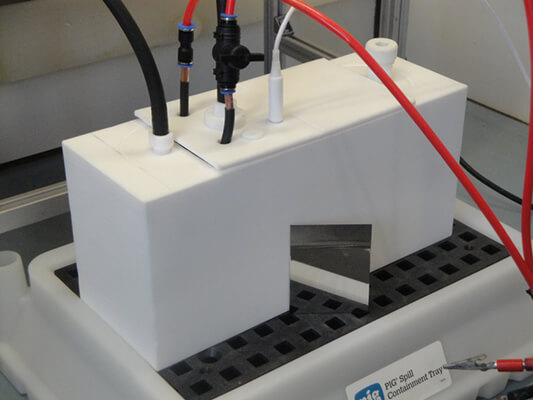 Laboratory-scale electropolishing cell